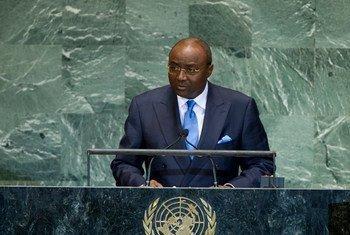 Le Ministre des affaires étrangères du Cameroun Pierre Moukoko Mbonjo. Photo ONU/Marco Castro