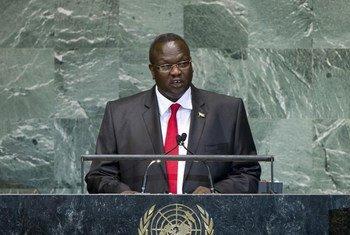 Le Vice-Président du Soudan du Sud, Riek Machar Teny-Dhurgon.
