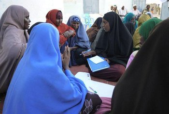 Improved access to education is key to young women's empowerment in Somalia.