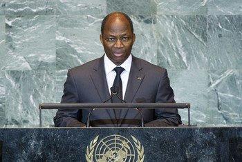 Le Ministre des affaires étrangères du Burkina Faso, Djibril Yipene Bassolé.