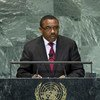 Prime Minister Hailemariam Desalegn of Ethiopia addresses the General  Assembly.