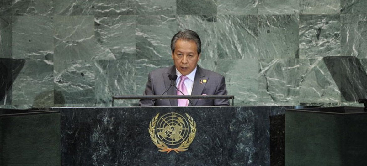 Anifah Aman, Minister for Foreign Affairs of Malaysia.