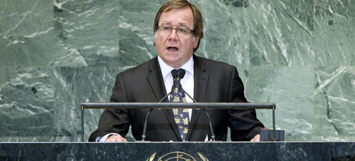 Murray Mccully, Minister for Foreign Affairs of New Zealand.