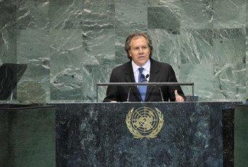 El ministro de Exteriores de Uruguay, Luis Almagro, Foto archivo: ONU/ Devra Berkowitz