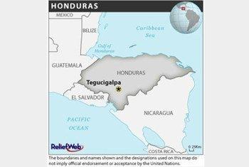 Mapa: OCHA/ReliefWeb