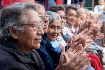 纪念10月1日国际老年人日