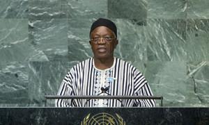 Le Ministre des affaires étrangères de Sierra Léone, Joseph Dauda.