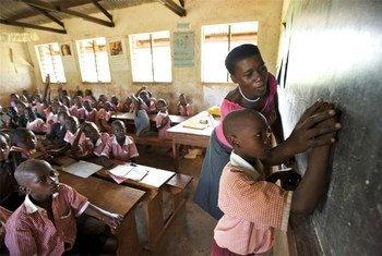 École primaire dans le district de Kyenjojo en Ouganda.
