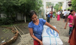 UNHCR has distributed relief supplies to tens of thousands of people in communities affected by the unrest in Rakhine state.