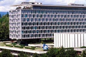 Sede da Organização Mundial da Saúde, em Genebra