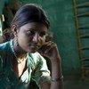 Le mariage précoce est une menace pour la santé et le bien-être des filles: 67% des filles indiennes mariées avant l'âge sont victimes d'abus. Sur cette photo, Umilla, du village de Dehra.