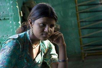 印度67%的女童新娘遭受虐待  图片:联合国儿基会/Khemka