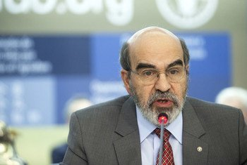 Le Directeur général de l'Organisation des Nations Unies pour l'alimentation et l'agriculture (FAO), José Graziano da Silva.