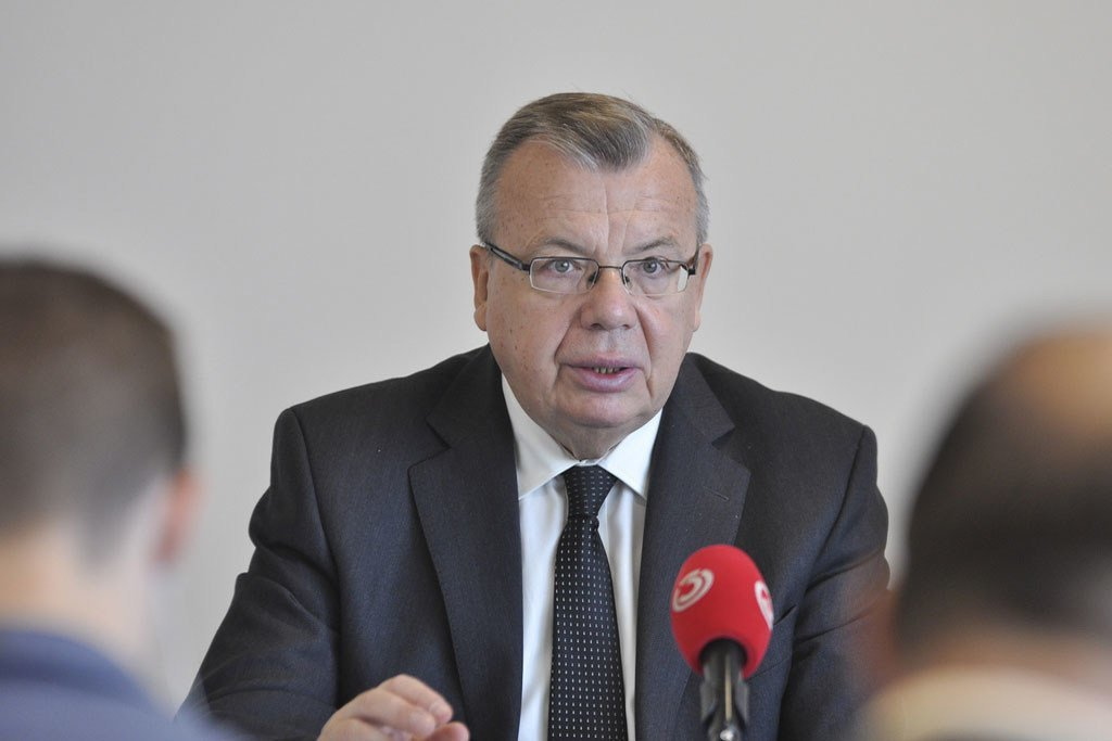 Executive Director of the United Nations Office on Drugs and Crime Yury Fedotov.