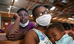 Tuberculosis face mask.