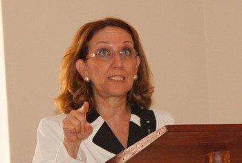 L'Administratrice associée du PNUD, Rebecca Grynspan.