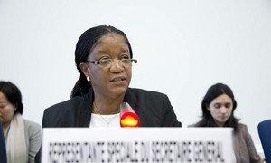Special Representative on Sexual Violence in Conflict Zainab Bangura.