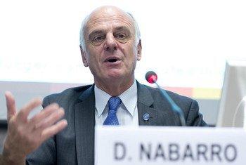 Enviado especial de la ONU para el ébola, David Nabarro. Foto de archivo: ONU/Jean-Marc Ferré