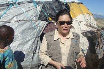La Sous Secrétaire générale des Nations Unies aux affaires humanitaires, Catherine Bragg. Photo OCHA/Matthew Conway