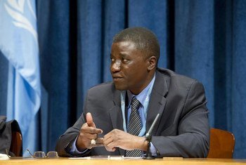 Special Rapporteur on the human rights of internally displaced persons Chaloka Beyani.
