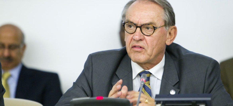 Deputy Secretary-General Jan Eliasson.