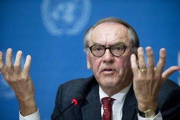 Le Vice-Secrétaire général des Nations Unies, Jan Eliasson.
