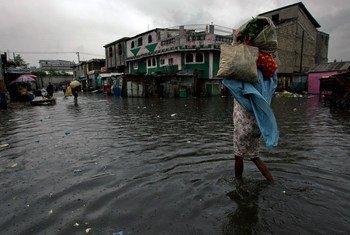 El huracán Matthew puede tener efectos catastróicos en Haití. Foto de archivo: Logan Abassi/MINUSTAH