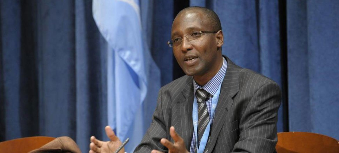 Special Rapporteur on racism Mutuma Ruteere.