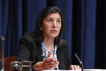 Rashida Manjoo    Foto de archivo: ONU/Paulo Filgueiras