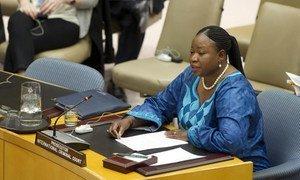 La Procureure de la Cour pénale internationale (CPI), Fatou Bensouda. Photo ONU/Evan Schneider