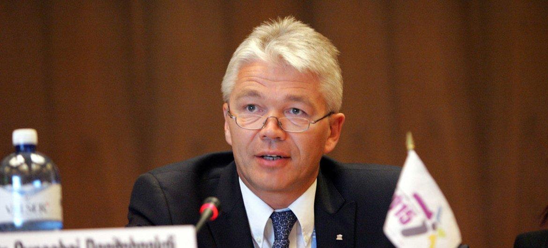 UNESCO Assistant Director-General for Communication Janis Karklins.