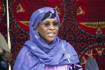 La nouvelle Chef de l'ONUCI, Aïchatou Mindaoudou.