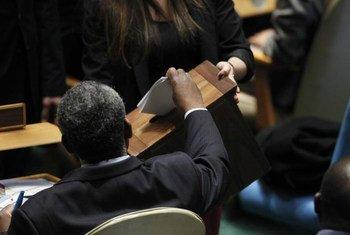 L'Assemblée générale élit 18 nouveaux membres du Conseil des droits de l'homme, le 12 novembre 2012.