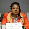 Joy Ngozi Ezeilo, UN Special Rapporteur on trafficking in persons, especially in women and children.