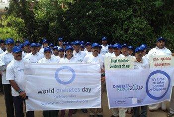 фото Международной  федерации диабета