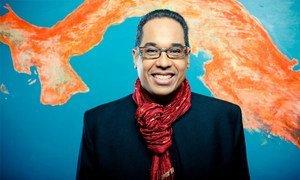 Le pianiste et compositeur de jazz panaméen Danilo Pérez.