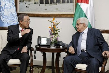 Ban y Abbas<br>(Foto de archivo: Evan Schneider)