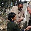Robert Serry en Gaza   Foto de archivo: ONU/Shareef Sarhan