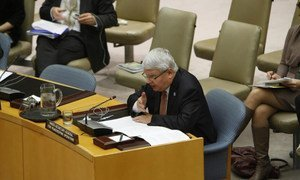 Under-Secretary-General for Peacekeeping Operations Hervé Ladsous.