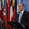 El coordinador especial de la ONU para Líbano, Derek Plumbly Foto: ONU/ Ryan Brown