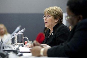 Executive Director of UN Women Michelle Bachelet.