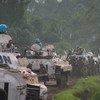 Soldados de paz da Missão de Paz das Nações Unidas na República Democrática do Congo, Monusco.