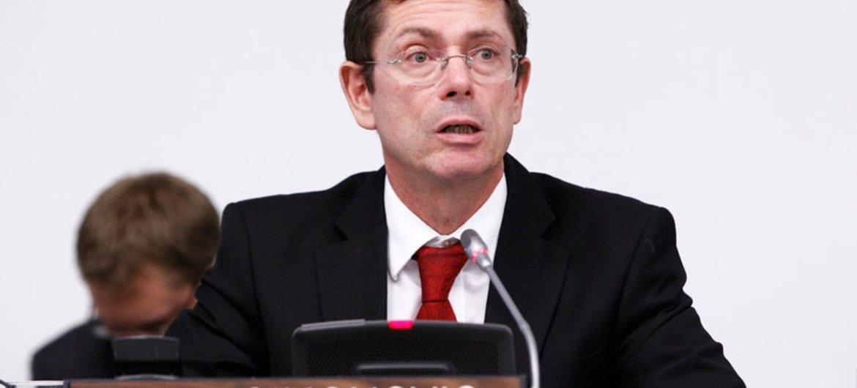 助理秘书长西蒙诺维奇。联合国图片/JC McIlwaine