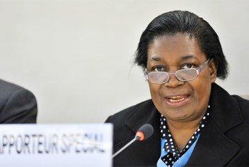 Margaret Sekaggya (Foto de archivo: Jean-Marc Ferré)