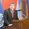 Le Directeur général de l'Organisation internationale du travail (OIT), Guy Ryder.