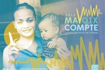 Journée des droits de l'homme 2012.