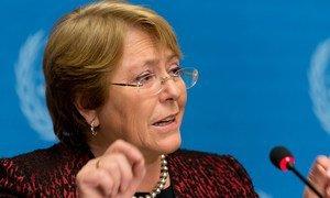 Мишель Бачелет, Верховный комиссар ООН по правам человека