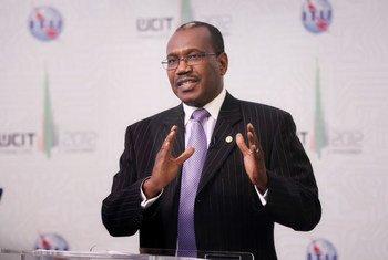 Le Secrétaire général de l'Union internationale des télécommunications (UIT), Hamadoun Touré.