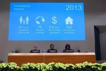Lancement à Rome de l'Appel humanitaire consolidée pour 2013.