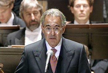 L'écrivain, universitaire, homme d'affaires et philanthrope Metin Arditi, nouvel Ambassadeur de bonne volonté de l'UNESCO.